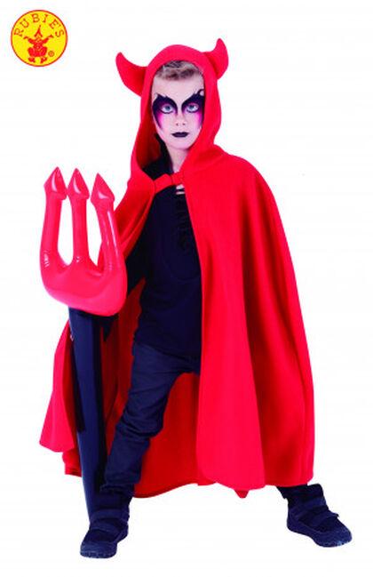 Capa de diablo Rubie'S Con tridente hinchable
