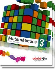 Matemàtiques/Talentia PRIMÀRIA 3 Edebé 9788468323169