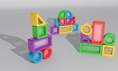 Juego de construcción Game Movil Color visión 30 piezas