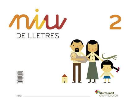NIU DE LLETRES 2 INFANTIL 3 ANYS Grup Promotor Text 9788490470961