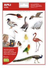 Pegatinas foto aves remo