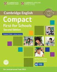 CUP Compact First Schools 2E/SB+CDR Cambridge 9781107415560