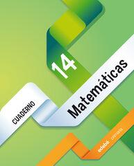 MATEMÁTICAS CUADERNO 14 5º PRIMARIA Edebé 9788468314457