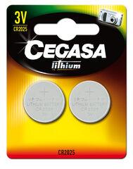 Pilas de botón Cegasa 3V CR2025