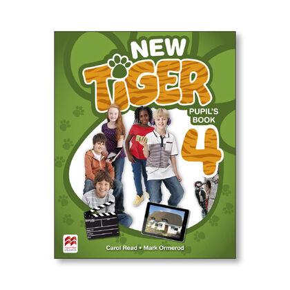 NEW TIGER 4. PUPIL'S PACK Macmillan-Text 9781380011145