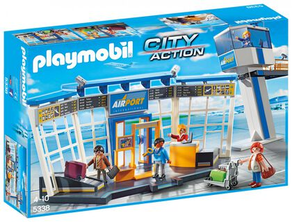 Playmobil City Action Torre control