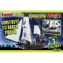 Famoplay Monsters Barco Pirata