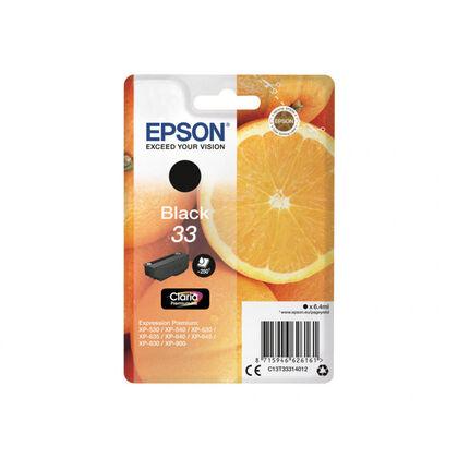 Cartutx Epson Injecci INK/33 Oranges 6,4ML