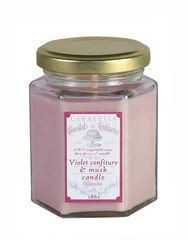 VelaCerabellaTarro pequeño -Violetconfiture&muskcandle