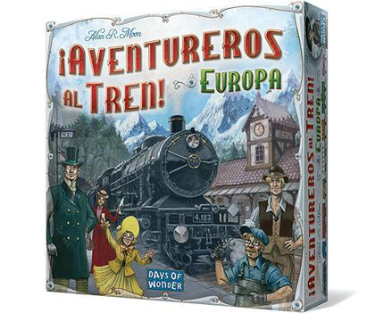 Juego de mesa Edge Aventureros al tren (Europa)