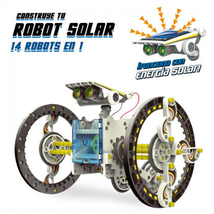 Juego de construcción World Brands Robot solar 12 en 1