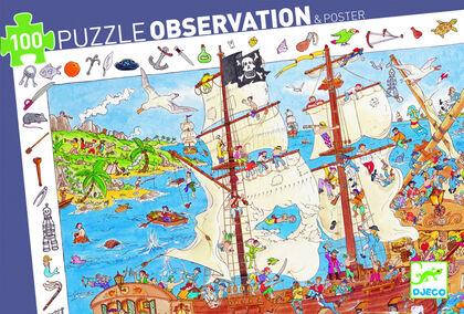 Puzzle Djeco Piratas