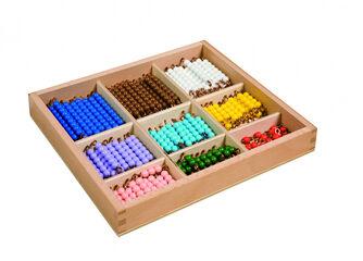 Caja Cuentas Montessori 180 piezas