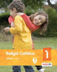 RELIGIÓ CATÒLICA 1r PRIMÀRIA Edebé 9788468317137