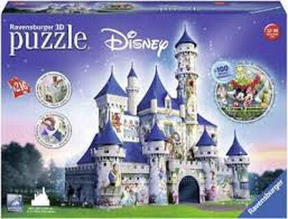 Puzzle 3D Ravensburger Frozen Ice Castle 216 piezas