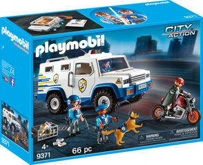 Playmobil City Action Cotxe de policia blindat
