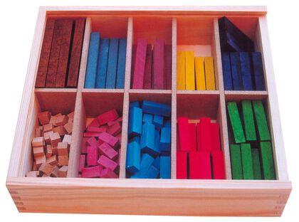 Regletas Numéricas de madera