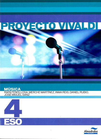 Música+CD/Vivaldi ESO 4 Proyecto Vivaldi Almadraba 9788483086360