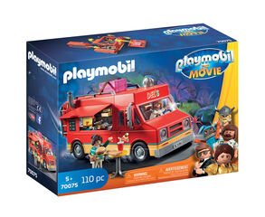 Ambientes Playmobil The Movie Food Truck