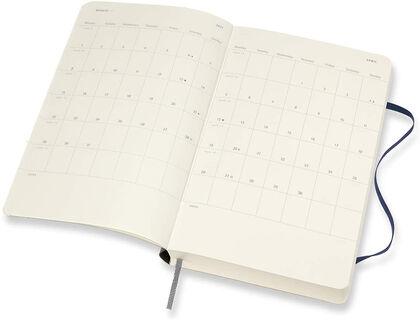 Agenda Diaria Moleskine 2020 - 2021 18 meses Día Vista Inglés Negro (13x21 cm)