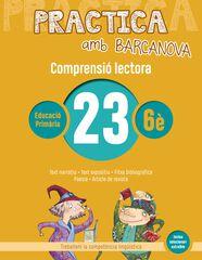 PRACTICA AMB BARCANOVA 23. COMPRENSIÓ LECTORA Barcanova Quaderns 9788448948665