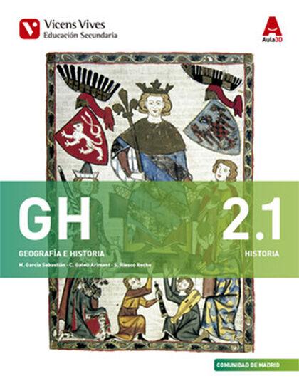 GEOGRAFIA E HISTORIA(2) GH 2º ESO Vicens Vives 9788468236575