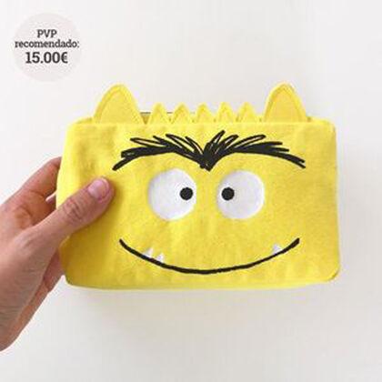 EstucheEl Monstruo de Color Amarillo