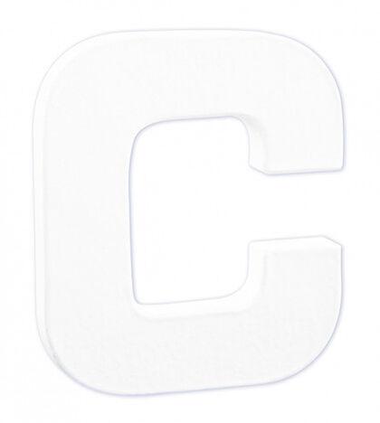 LETRA DECOPATCH  C 12x10,5x1,5cm