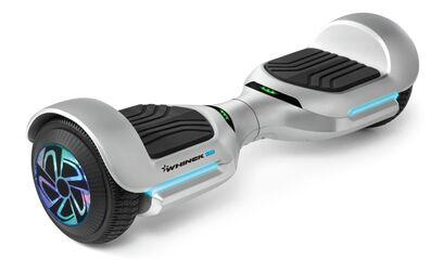 Hoverboard Whinck 6,5'' Led Plata