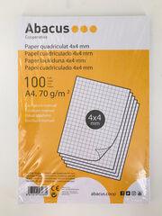 PapelAbacusA4 4x4 100F