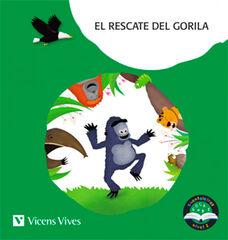 EL RESCATE DEL GORIA. CUENTALETRAS NIVEL 2 (G, GU). LETRA DE PALO Vicens Vives- 9788468249896