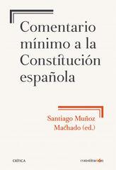 Comentario mínimo a la Constitución espa