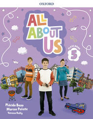 ALL ABOUT US 5 CLASS BOOK Oxford 9780194562409