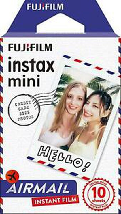 Papel fotográfico Instax Recambio Instax Airmail 10U