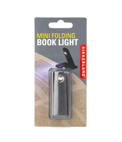 Mini luz para lectura Kikkerland Plegable Negro
