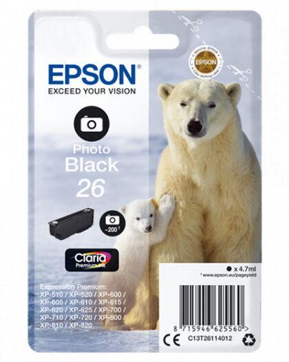 CART.INY.EPSON INK/26 POLAR BEAR 4.7ML P