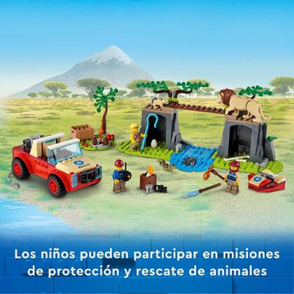 LEGO City Rescat Fauna Salvatge 4X4
