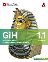 GEOGRAFIA I HISTÒRIA ACTIVITATS GIH 1r ESO Vicens V. València 9788468232867