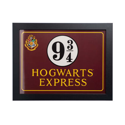 Print Enmarcado Harry Potter Hogwarts Express - 30x40 cm