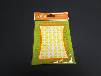 Gomets Ineta Pequeños Triangulares Amarillos 1 m