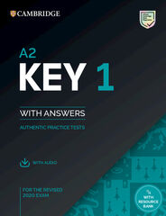 KEY 1 FOR REVISED EXAM 2020. STUDENT'S BOOK WITH ANSWERS WITH AUDIO Cambridge 9781108694636