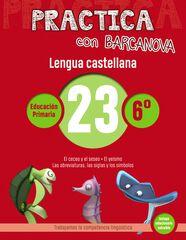 PRACTICA LENGUA 23 Barcanova Quaderns 9788448945480