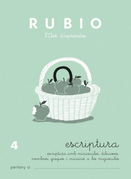 ESCRIPTURA 04 PRIMÀRIA Rubio 9788489773547