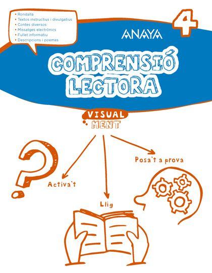 COMPRENSIÓ LECTORA 4 4t PRIMÀRIA Anaya Quaderns 9788469832097