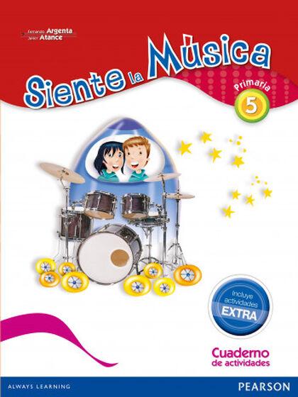 SIENTE LA MÚSICA CUADERNO PACK 5º PRIMARIA Pearson 9788420564364
