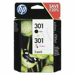 Rec.orig HP pack negro/color 301