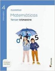 Matemáticas-cuaderno 3/15 PRIMÀRIA 4 Santillana Text 9788468029627