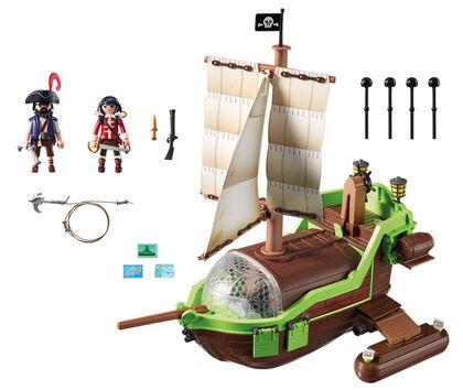 Playmobil Super 4 Barco camaleón con Ruby