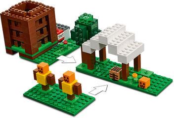 LEGO Minecraft El Puesto de Saqueadores (21159)