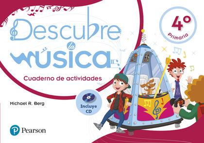 PEAR E4 Descubre la música 4-act/Pack Pearson 9788420566801